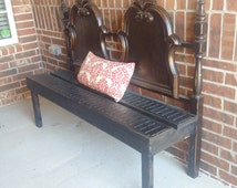 One-of-a-kind Headboard Bench