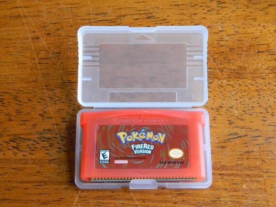 Pokemon Fire Red GBA Game Boy Advance Nintendo by ...