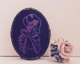 Little Girl in Purple