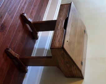 Writing Desk Woodworking Plan