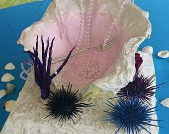 """An """"Under the Sea"""" inspired centerpiece"""