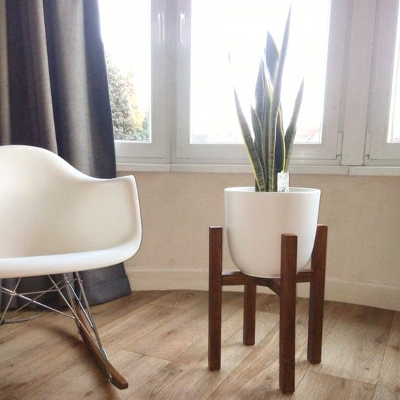 mid century modern plant stand the best inspiration for inte
