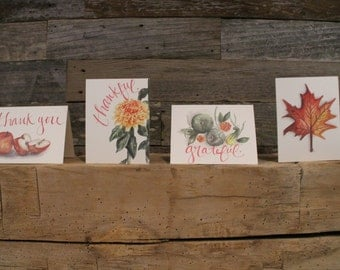 Autumn Stationery Collection - Set of 4 or 8 Cards