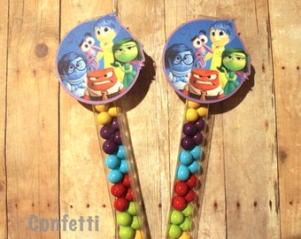 Inside Out Candy Wands-Set of 12