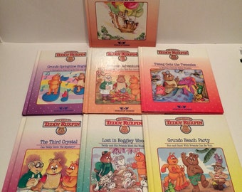 Teddy Ruxpin books