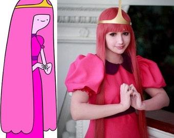Adventure Time Princess Bubblegum cosplay dress costume