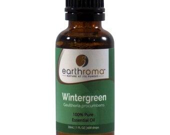 Wintergreen Essential Oil   5 mL   15 mL   30 mL   100% Pure Therapeutic Grade