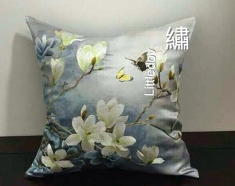 10002#  SuXiu Hand Embroidered decorative pillow case