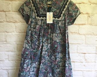 Vintage tapestry swing dress