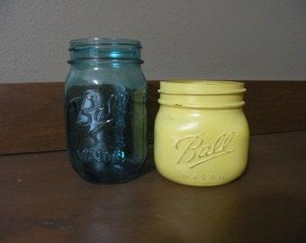 Set of 2 Mason Jars