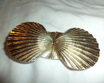 Mimi 1979 sea shell belt buckle