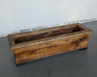 "24""  Planter Box. Garden Planter. Centerpiece."