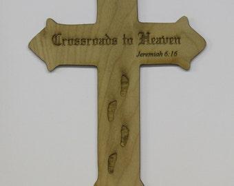 Crossroads to heaven cross