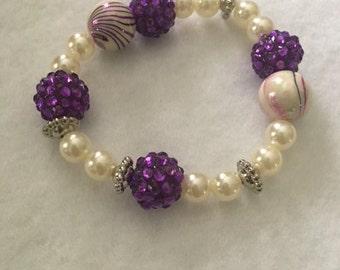 Purple Wonderland Bracelet
