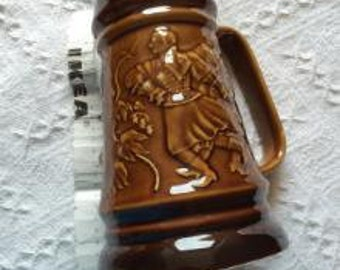 old beer pitcher - mint condition!  23cm