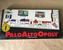 PaloAltoOpoly Board Game. Monopoly Variant Palo Alto California 100 Year Anniversary. Unopened. Collectible Board Game