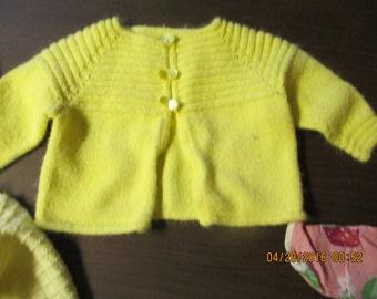 Newborn baby sweater or doll sweater