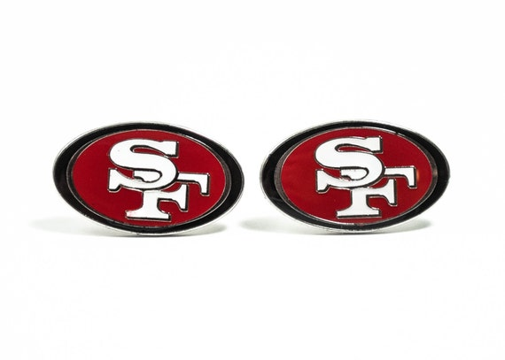 San Francisco 49ers Cuff Links -- FREE SHIPPING with USPS First Class Domestic Mail