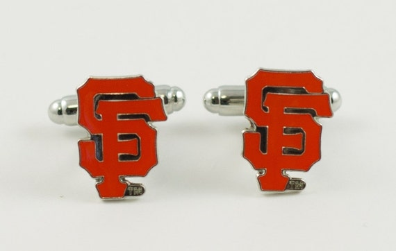 San Francisco Giants Cuff Links -- FREE SHIPPING with USPS First Class Domestic Mail