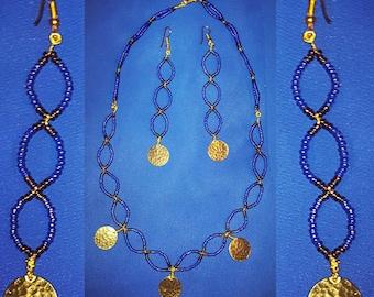 Blue Nile Jewelry Set