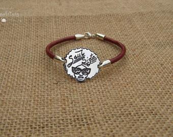 "Bracelet vintage ""Soul Sista"" (female)"