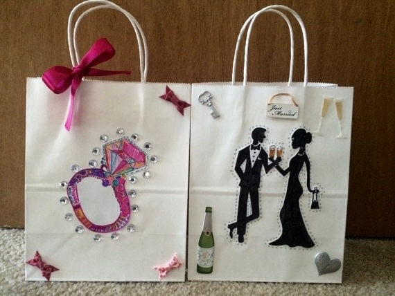 Wedding Engagement Gifts For Couples: WEDDING PARTY FAVORS Engagement Gifts For Couple Bridal