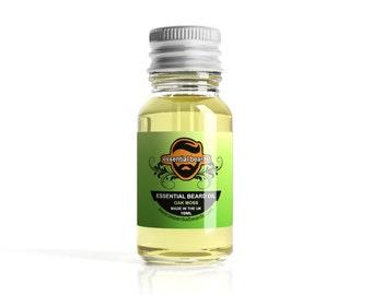 Essential Beards OAK MOSS Beard Oil Beard Nourisher 10ml Made in the UK