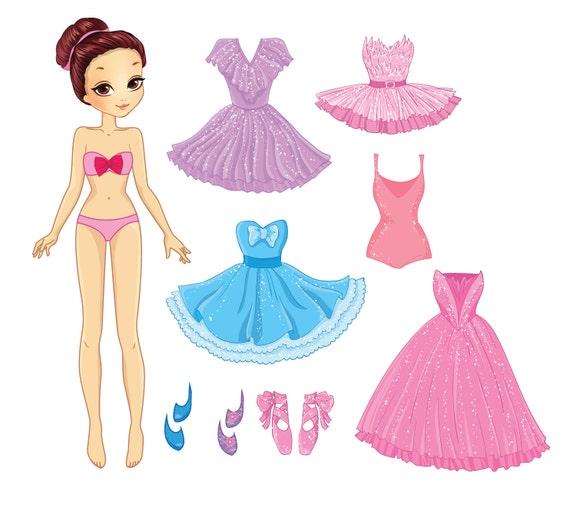 Dress Up Girl Activity Pack - Kristen - MagReceptive