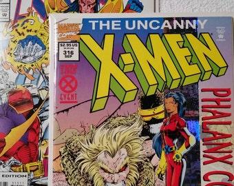 Uncanny X-Men #315 and #316