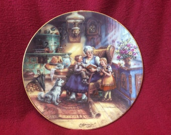 Weimar Weimar-Porzellan Omas Märchenstunde, Grandma's Storytime