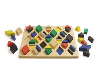 Colored rhombus