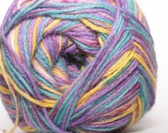 Online Supersocke, Jupiter Color, color 1666, lot 1704   purple, blue, green