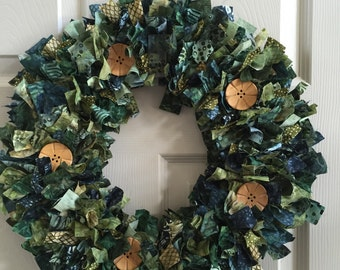 Mixed Greens Wreath