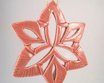 Hand Carved Porcelain Ornament