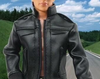 Barbie clothes - Ken doll clothes - Ken leather jacket