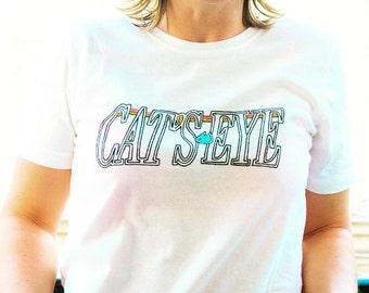 "t-shirt men ""Cat's eye"""