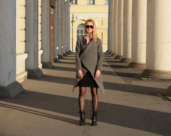 Easy coat overcoat