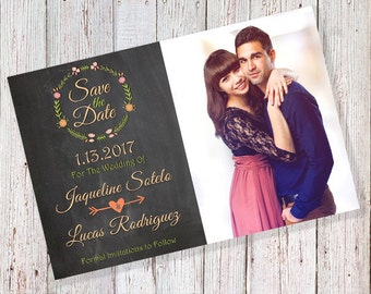 Photo Save the Date Card (DIGITAL FILE)