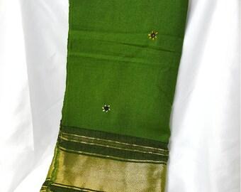 Handmade Scarf Green