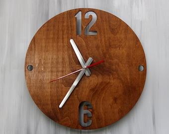 wall clock wood wall clocks wood wall clock rustic wall clock wooden