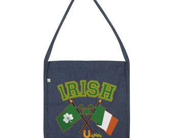 Irish Flag St Patricks Day Tote Bag