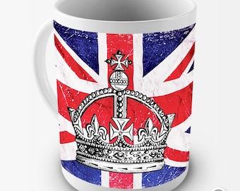 British Union Flag Ceramic Tea Mug