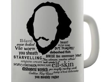 Shakespearean Insults Ceramic Mug