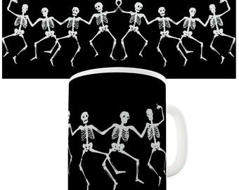 Dancing Skeletons Ceramic Mug