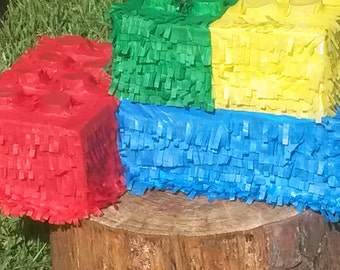4 in one Lego Bricks Piñata. Handmade. New