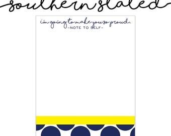 Motivational Quote Notepad