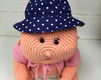 Polka Dot Toddler Hat