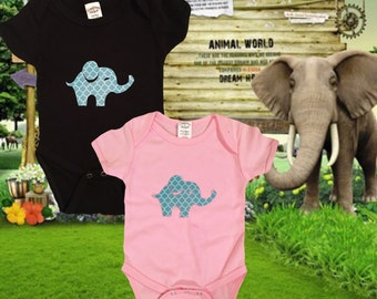 Blue Elephant Onesie