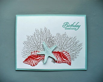 Stampin Up By The Seashore