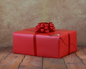 Premium Collection Gift Wrap Kit - Red